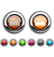 Picture button vector image