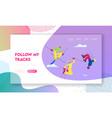 sportsmen sportswomen freestyle skiing jump vector image vector image