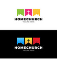 template christian logo emblem for school college vector image vector image