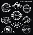 Unique Vintage Labels vector image vector image