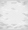 white brick wall industrial construction vector image