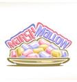 marshmallow vector image