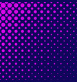 color abstract geometric halftone circle pattern vector image vector image