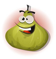 comic funny fig character vector image vector image