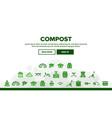 Compost ground soil landing header