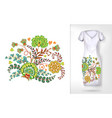 Embroidery colorful trend floral pattern