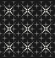 geometric seamless pattern halftone dotted lines vector image vector image