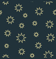 pattern is seamless stars vector image vector image