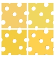 Seamless texture of cheese vector image