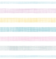 Abstract textile colorful stripes seamless pattern vector image