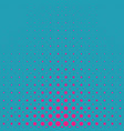 color abstract geometric halftone dot pattern vector image vector image