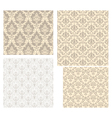 Damask pattern set vector | Price: 1 Credit (USD $1)