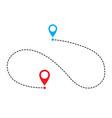 path icon vector image