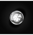 Pizza web icon vector image