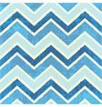 Chevron pattern in blue vector image