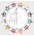 Chinese Zodiac Sheep vector image vector image