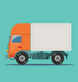 delivery truck delivery service concept vector image