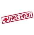 Free event stamp vector image vector image