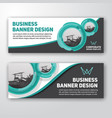 modern corporate banner background vector image