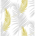 modern surface design delicate tropical branches vector image vector image