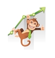 Monkey Business vector image vector image