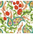 Paisley blooming garden vector image vector image