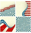 patriotic background vector image vector image