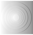 Abstract gray circles with shadow EPS 10 vector image