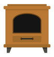 ancient oven icon cartoon style vector image vector image