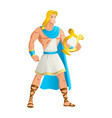 apollo the god of music vector image
