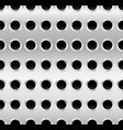metal with dimples holes punched perforated metal vector image
