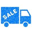 Sale Van Grainy Texture Icon vector image vector image