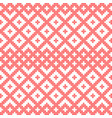 seamless pattern based on slavic ornament vector image vector image