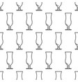seamless pattern from icon of hurricane glass vector image vector image