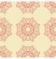 Seamless Print Abstract Symmetrical Doodle vector image vector image