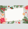 template of christmas letters and wishes vector image