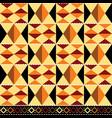 tribal seamless textile pattern - kente vector image vector image