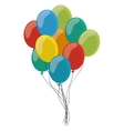 various balloons icon vector image