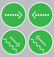 set of icons with pointers vector image