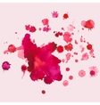 watercolour blots splash vector image