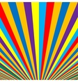 Abstract colorful striped background vector image vector image