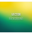 Emerald-yellow color blurred background vector image vector image