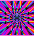 iridescent psychedelic pattern vector image vector image