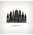 Modern Big City vector image vector image