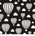 Pattern with air balloons vector image