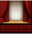 Theatre Scene vector image vector image
