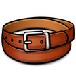 belt isolated drawing design vector image vector image