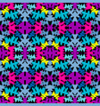 bright colored seamless abstract pattern for your vector image vector image