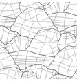 graphic repeated seamless pattern of faced stones vector image