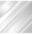 Grey minimal tech striped background vector image vector image